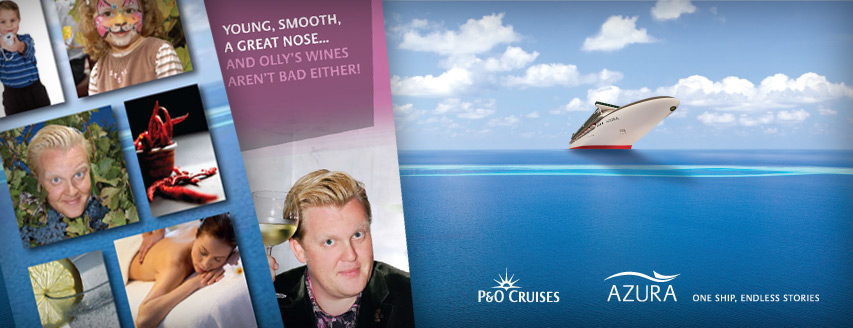 Promotional work for P&ampO Azura Cruise liner